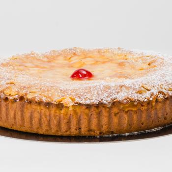 Krieken-amandel cake 6 personen