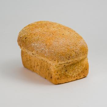 Kornplus brood (licht meergranenbrood met lijnzaad)