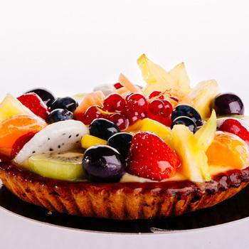 Vers fruit zacht deeg 8 personen