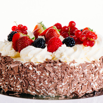 Gateau vers fruit 8 personen