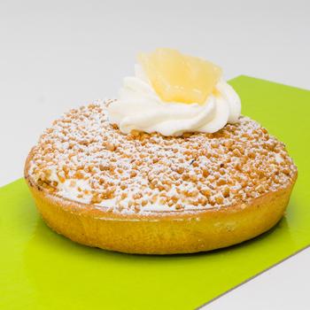 Ananas-bresilienne zacht deeg Tarteletje